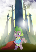 Hero of the Crystal Empire by V-D-K