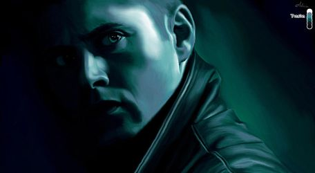 Dean Winchester in Tension by LicieOIC