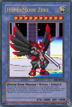 Yu-Gi-Oh Cards:HyperMode Zeke by superst