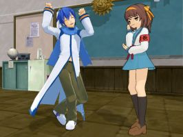 Kaito Auditions for The SOS Brigade by Link-Pikachu