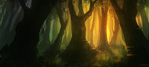 another forest... by llRobinll