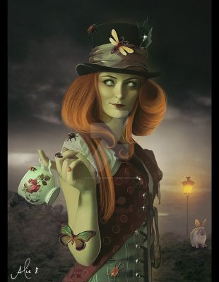 The Mad Hatter by Sandra2012SS