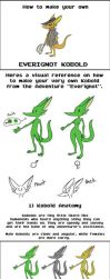 Kobold Visual Reference Sheet by Zito-is-Neato