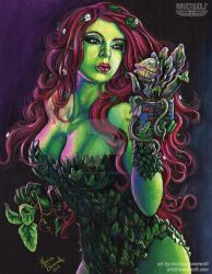 GREEN THUMB - Poison Ivy/Audrey II by MonicaRavenWolf