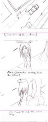 Storyboard-Crossing the street by Flutterby727