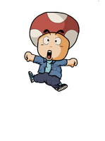 Dragon Ball (before Z) styled Toad by Mamamia64