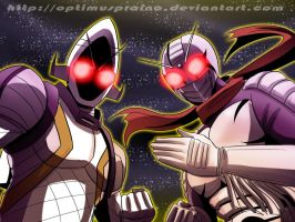 Kamen Riders in Space by OptimusPraino