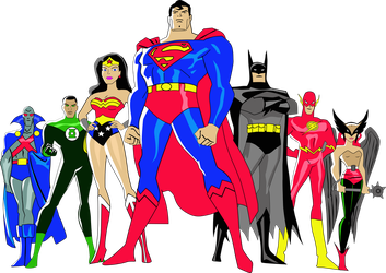 justice league of america vector png by sammyfanly
