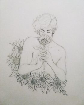 Flower Boy by Captain-Sexay