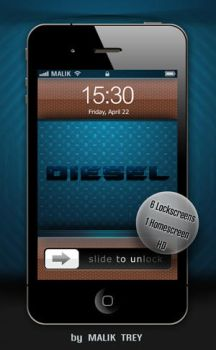 DIESEL BLUE HD by malik-trey