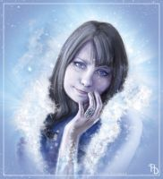 Ice Princess by AlbinaDiamond