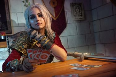 A round of Gwent? by jellyxbat
