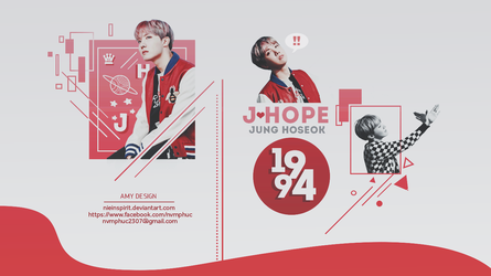 [PSD] Hoseok Desktop Wallpaper by NieInspirit