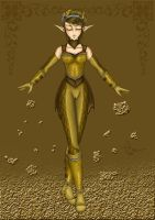Earthbender Dunja by Project-Drow