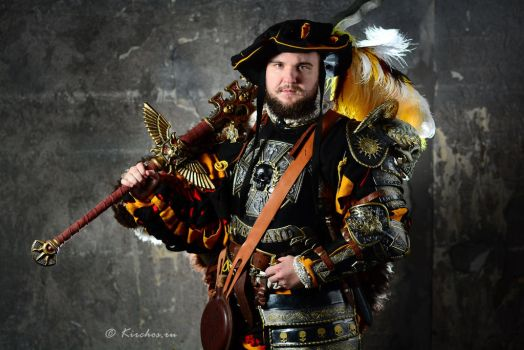 AVERLAND IMPERIAL CAPTAIN by Lordbobor