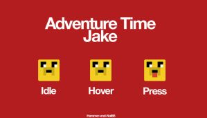 Adventure Time Jake by Hammer-and-Nail86