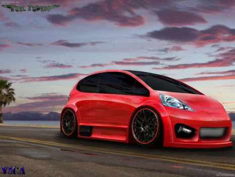 New Honda FIT by vicadesigner