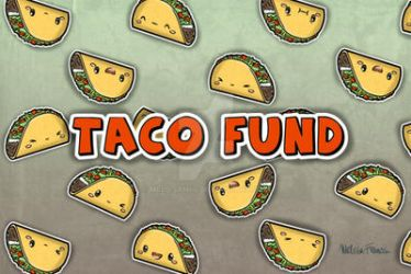 Zippered bag: Taco Fund by melissah84
