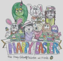 HAPPY EASTER Everyone 2016! by CelmationPrince