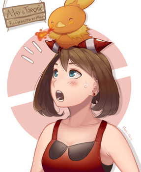 A Chick on a Chick by Hiro-Arts