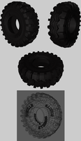 OFF ROAD TIRE 301 3D MODEL by infopablo00