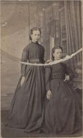 antique - two girls by Cospigeon