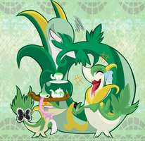 Snivy is Not Amused