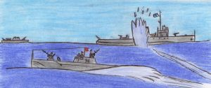 Soviet m.torpedo boat battle (1 of 3) by Kooskia