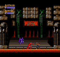 Batman NES Co op Mode, Deathstroke Boss Fight by ZiggytheNinja