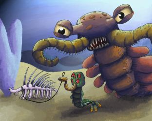 A day at the Burgess Shale by eternalsaturn
