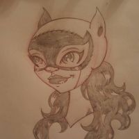 CLASSIC CATWOMAN by drawhard