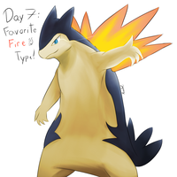 POKEDDEXY challenge - Day 7: Typhlosion by Zaprong