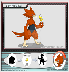 Alternative Evo: BURNDUCK by PEQUEDARK-VELVET