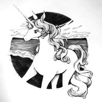 The Last Unicorn by ComeAlight