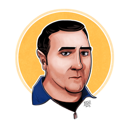Mike Stolklasa by Eurydice-is-Dying