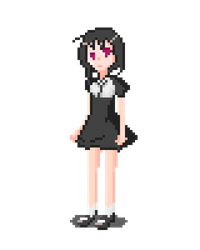 A PIXEL GIRL by gherhw1023