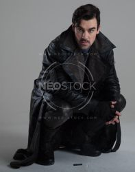Danny Cyberpunk Detective 151 - Stock Photography by NeoStockz