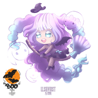 [CE] - Little Witch by rollingpoly