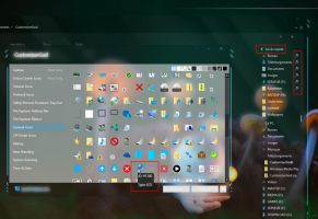 Windows 10 Quick access grey pinned icons hack by Mykou