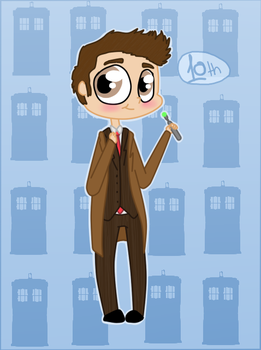 The 10th Doctor by NataliStudios