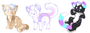 Kitten Adoptables OTA (Closed) by Liannell