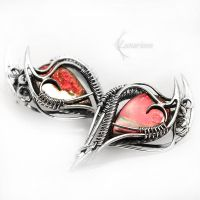REEVITHE Silver and Amazing Ammolite by LUNARIEEN