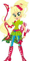 Sporty Style Applejack Vector by icantunloveyou