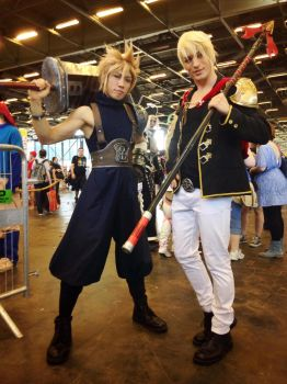 Leon Chiro and Amenokitarou by LeonChiroCosplayArt