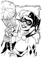 Harley Quinn by luisalonso