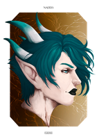 [COMM] For Dragonkinsoul - NAERYS by giums