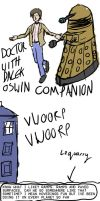 The Doctor and the Dalek (contains spoilers) by mysteriousshamrock