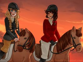 Contest Entry: A Long Day Back in the Saddle by S-weetHoneyB