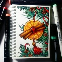 Instaart - Spicy New Year by Candra