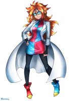 Dragon Ball Fighter Z - Android 21 (Normal) by Marini4